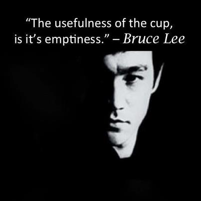 Emptiness of cup