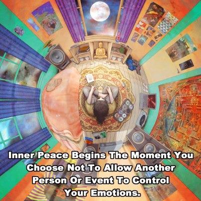 Inner peace begins
