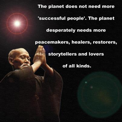 The planet needs