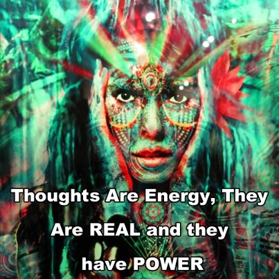 Thoughts as energy