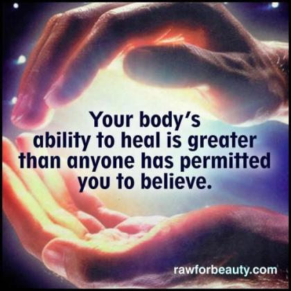 Ability to heal