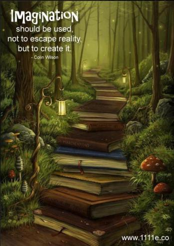 Imagination should be used