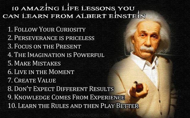 Lessons Einstein