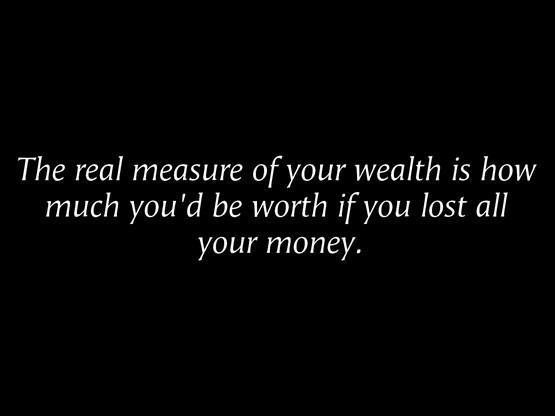 real measure of health