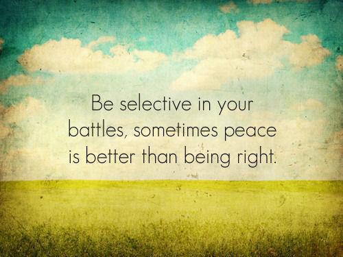 Selective in battles