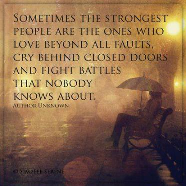 sometimes the strongest