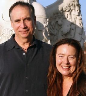 Tom Kenyon met zijn vrouw Judy Sion