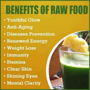 benefits raw food