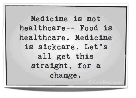Medicine is not healthcare