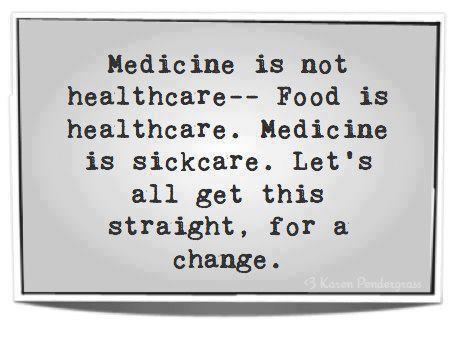 Medicine is not healthcare
