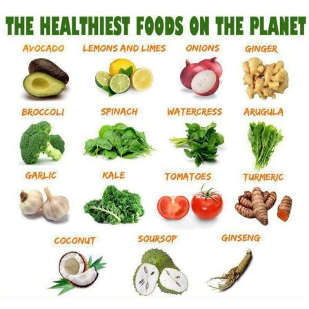 the healthiest food